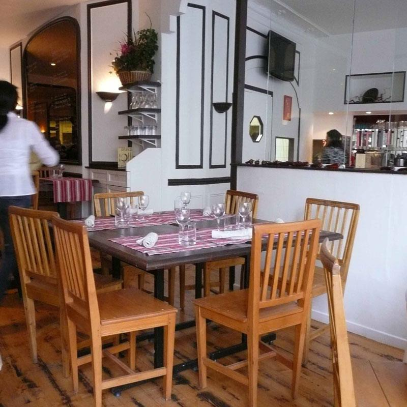 Restaurant Afaria, La salle