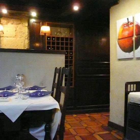 Restaurant Agapes, la salle