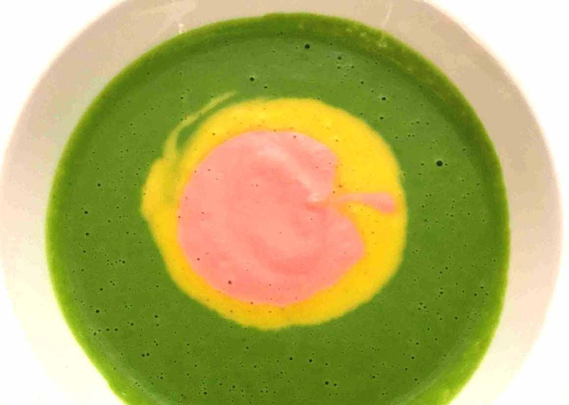 Restaurant Arpège : Velouté aux légumes d'automne