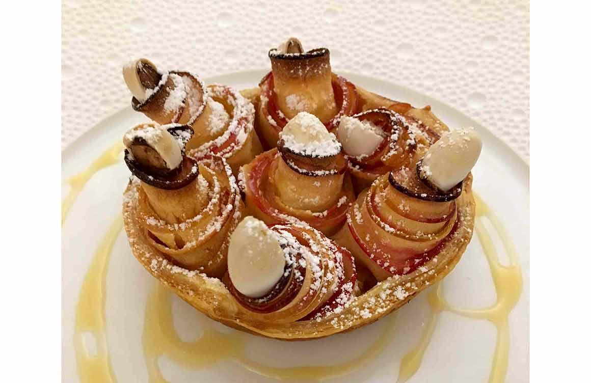Restaurant Arpège : Tarte aux pommes