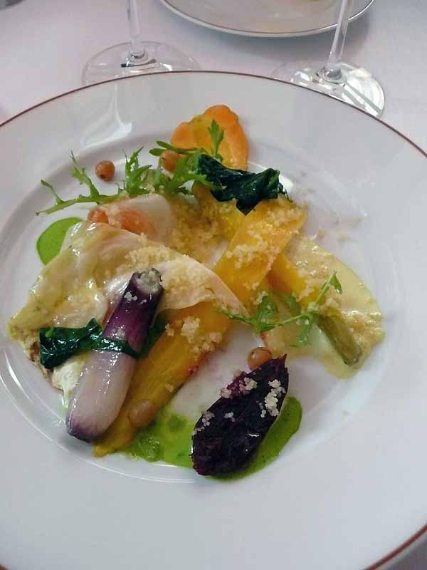 Restaurant L'ARPEGE : Robes des champs multicolores