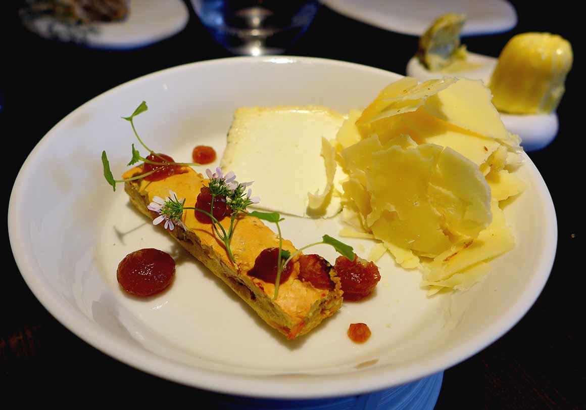 Restaurant Alan Geaam, La sélection de fromages
