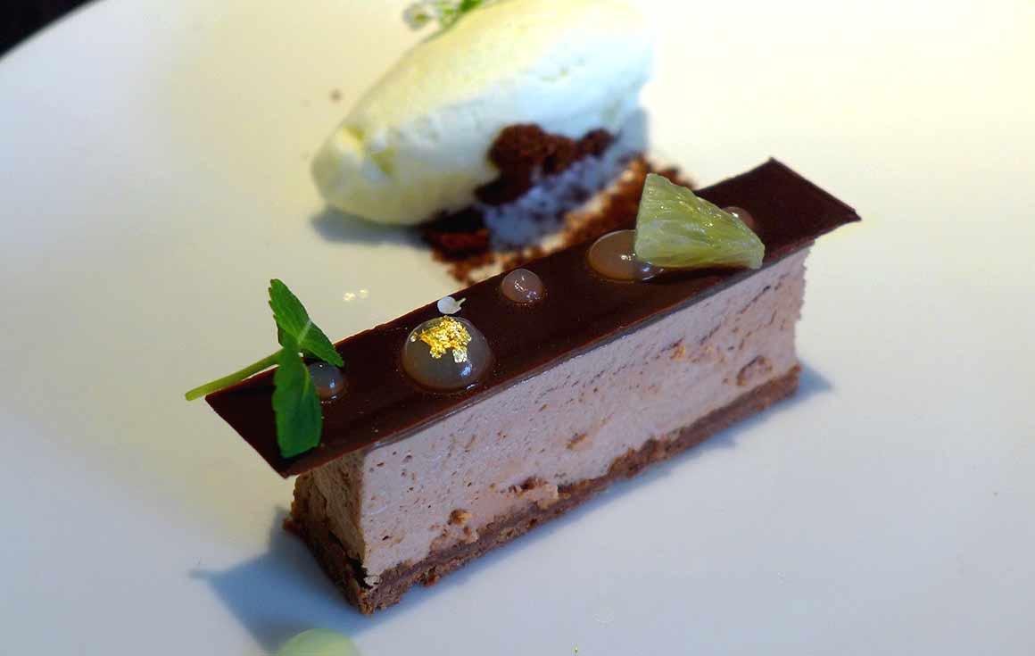 Restaurant Alan Geaam, Le gâteau au chocolat