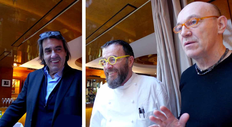 Pier Silli, Giancarlo Morelli et Alberico Penati