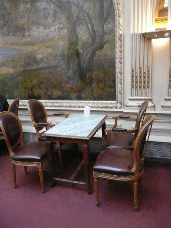Restaurant Angelina, décor du salon de thé