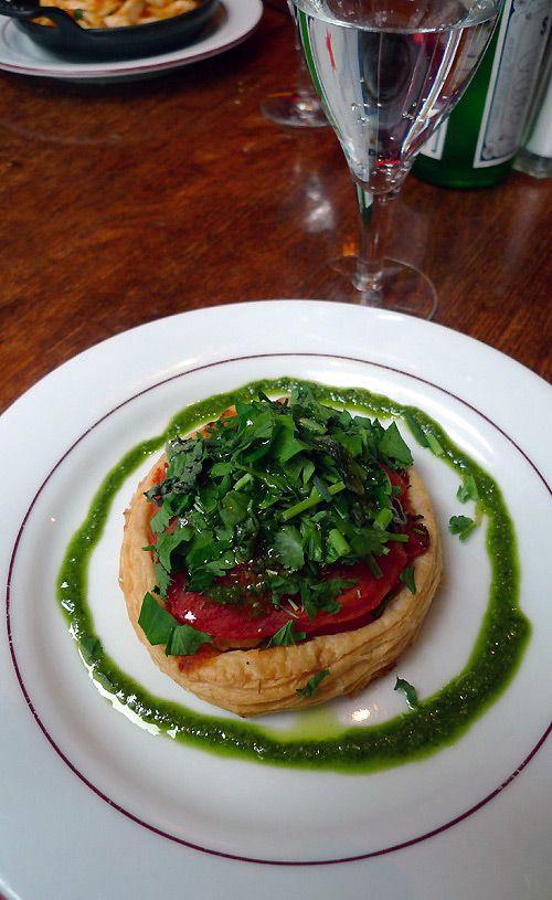 Restaurant Angkora Lounge tarte tomate