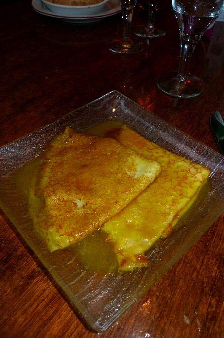 Restaurant Angkora Lounge crêpes Suzette