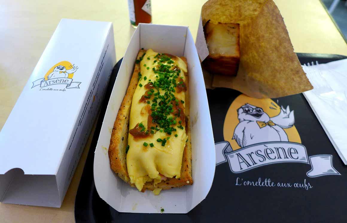 Restaurant Arsene : Omelette La Ferté Gaucher