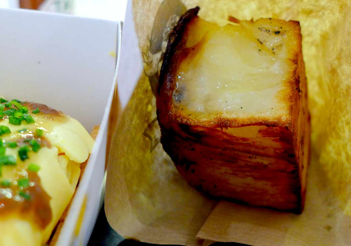 Restaurant Arsene : Galinette millefeuille de pommes de terre