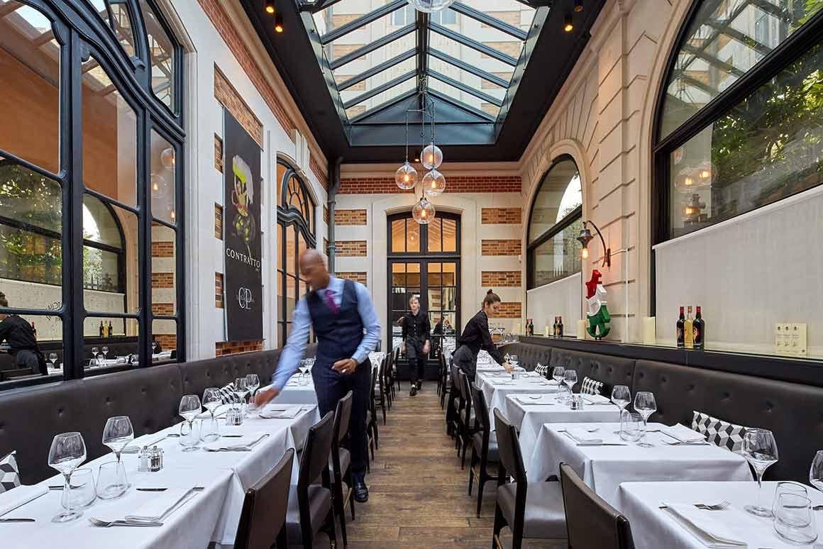 Restaurant Artcurial Sense Eat : La salle