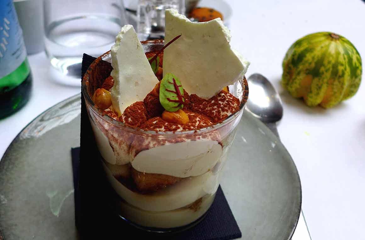 Restaurant Artcurial Sense Eat : Tiramisu au café