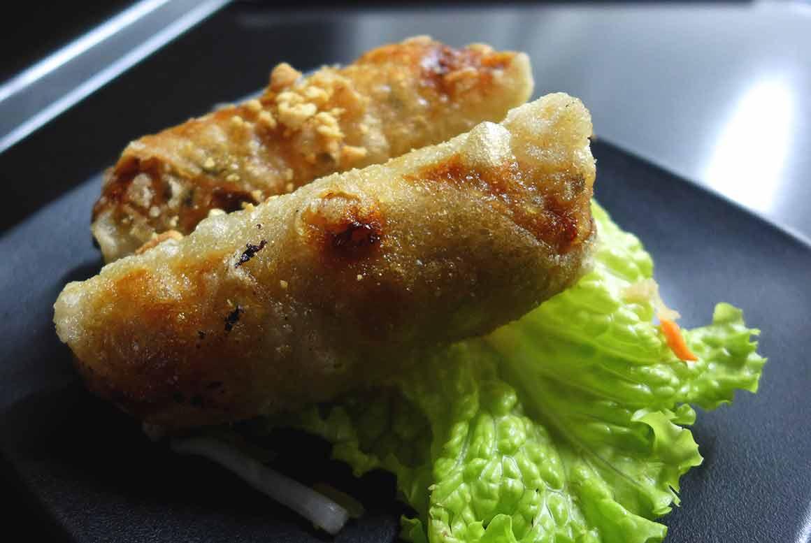 Restaurant Joy Malesherbes : Les nems au poulet