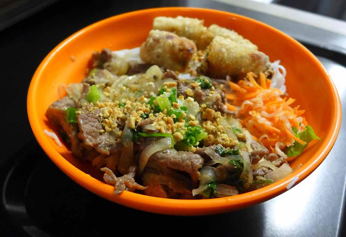 Restaurant Joy Malesherbes : Riz avec bœuf aux oignons
