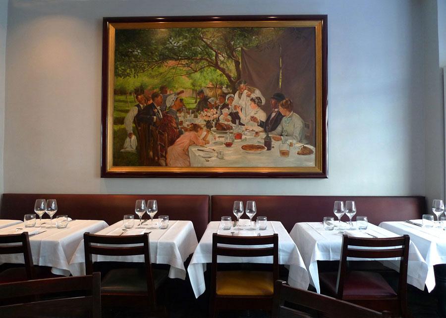 Restaurant Au Bon Accueil, la salle