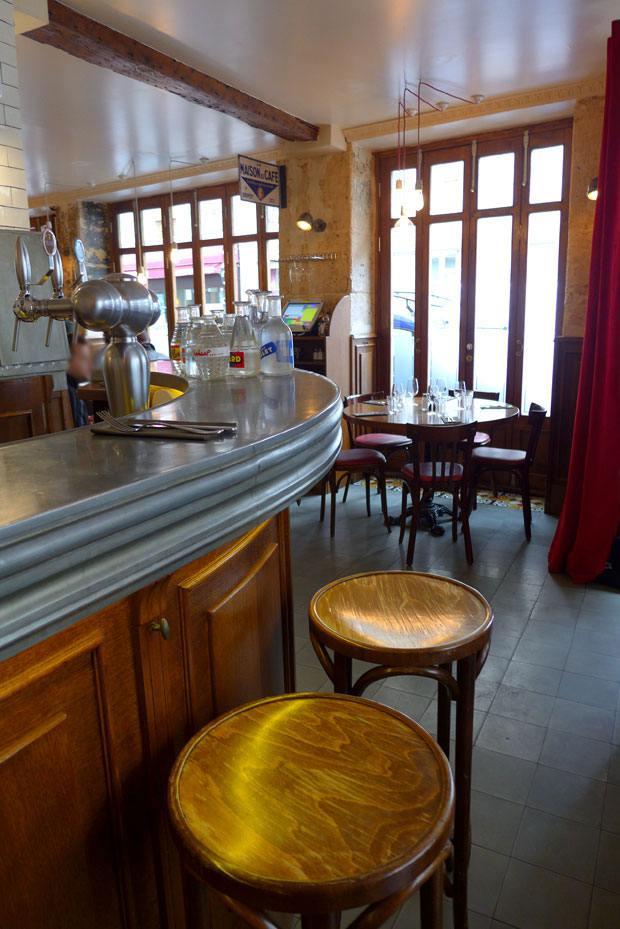 Restaurant au Bon Coin, un cadre de bistrot