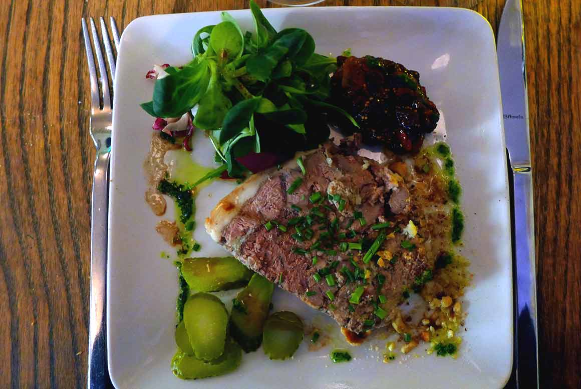 Restaurant Au Coup de Torchon : Terrine de foies de volaille