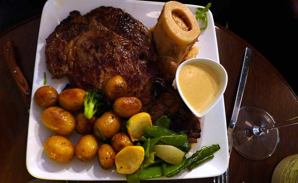 Restaurant Au Coup de Torchon : Entrecôte d'Irland