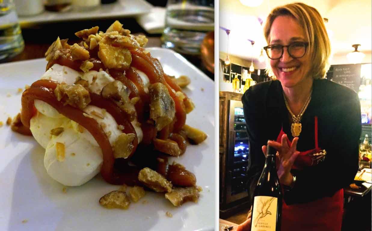 Restaurant Au Coup de Torchon : Mont Blanc à la crème