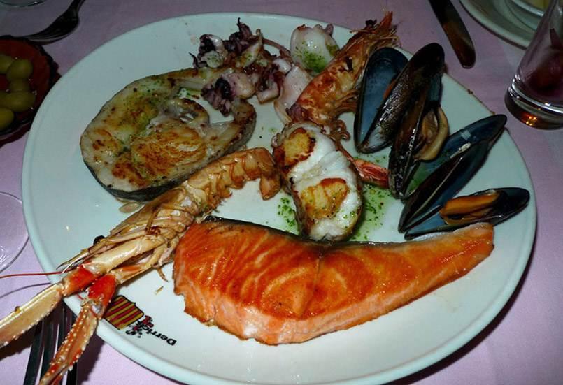 Restaurant Au Derrick Catalan : Parrillada marinera