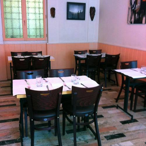Restaurant Au Nid Créole, La salle du restaurant