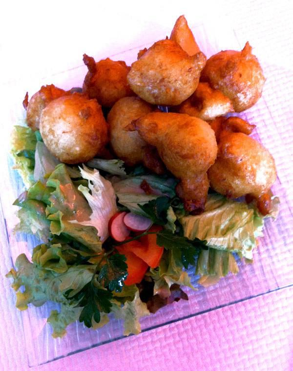 Restaurant Au Nid Créole, Les accras de morue