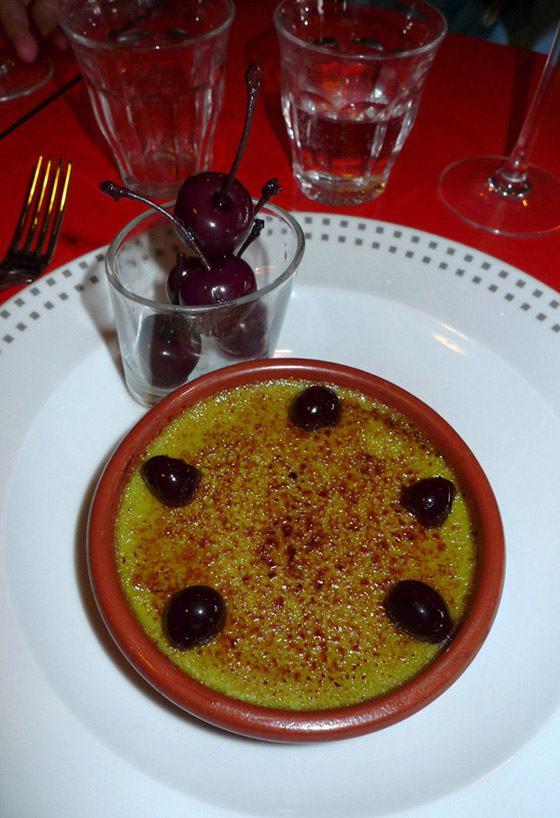 Restaurant Au Rendez-vous des Camionneurs : Crème caramélisée