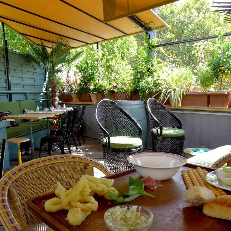 restaurant Auteuil la terrasse sur le toit