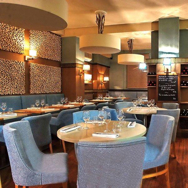 Restaurant Axuria, La salle