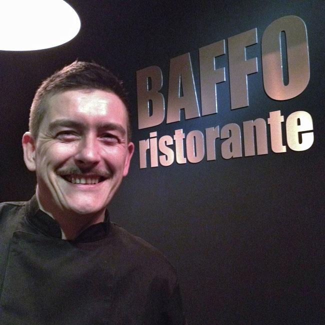 Le chef Fabien Zannier