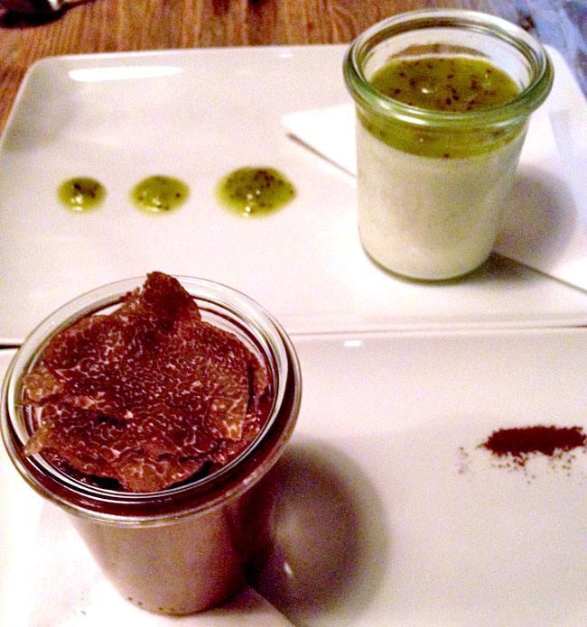 Restaurant Baffo, fondant au chocolat