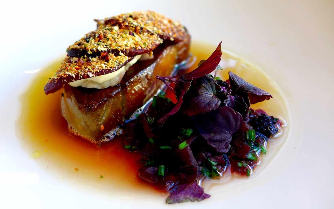 Restaurant Baltard au Louvre, Foie gras poêlé