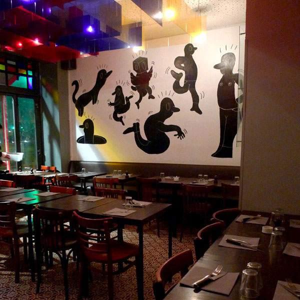 Restaurant Bang, La salle