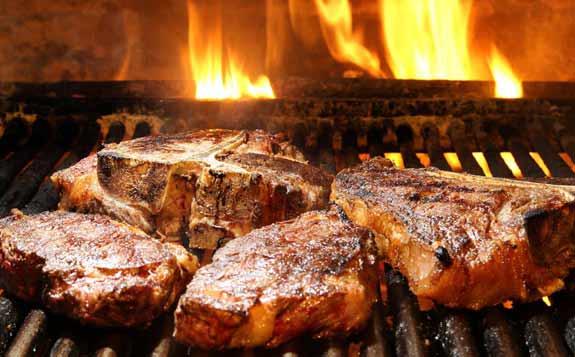 BBQ Bistrot, viande à la braise