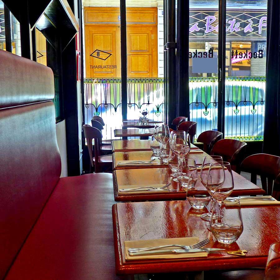 Restaurant Beckett : La salle