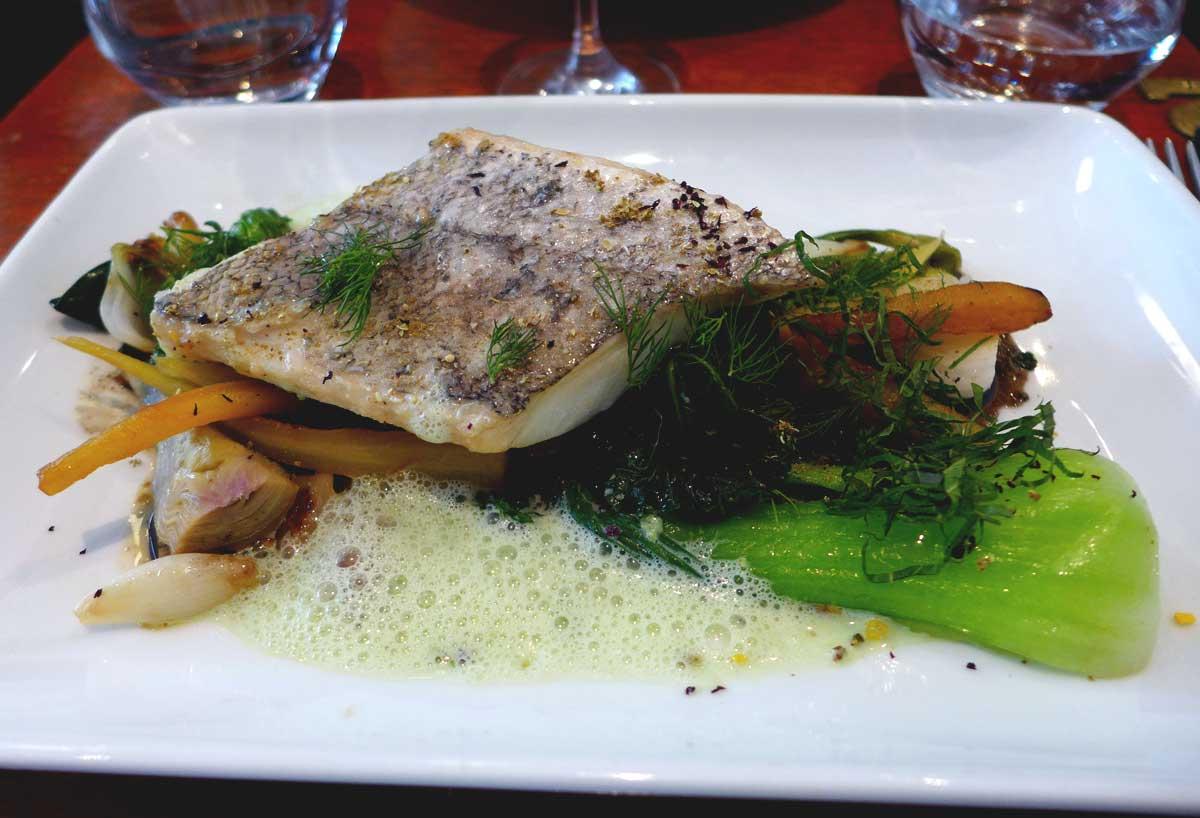 Restaurant Beckett : Filet de colin