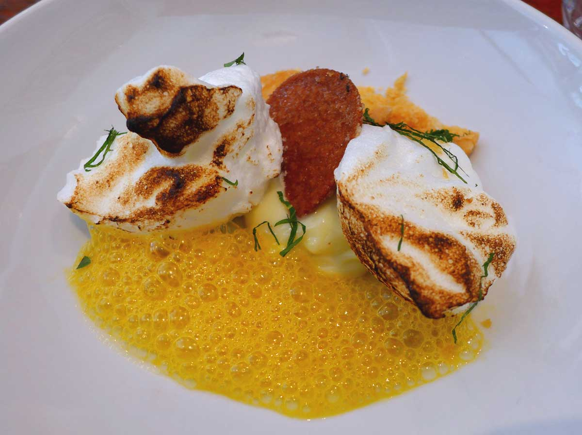 Restaurant Beckett : Tarte aux citrons