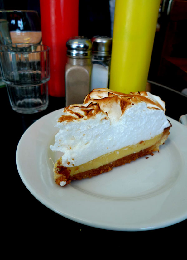 Restaurant Bedfor, tarte au citron meringuée