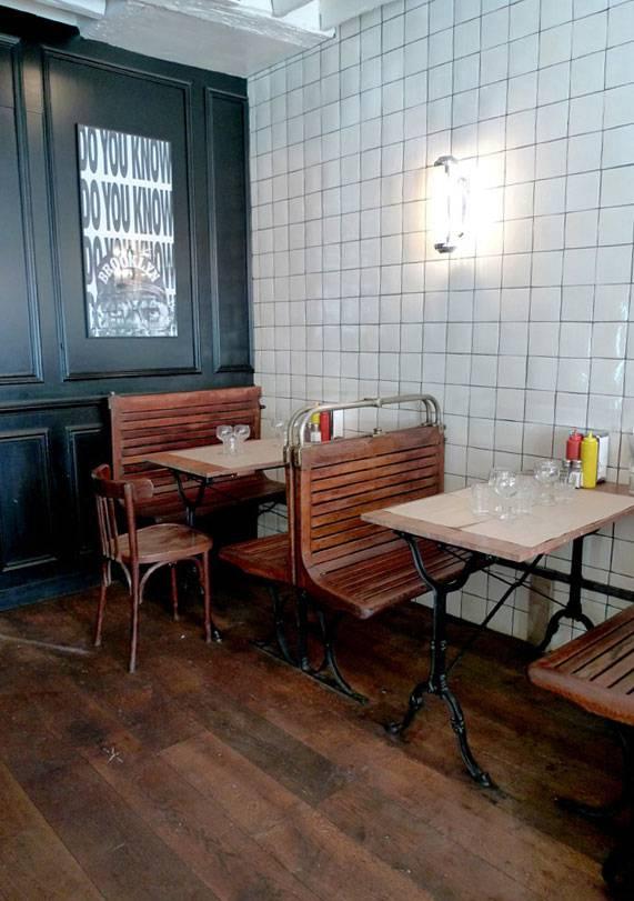 Restaurant Bedfor, la salle