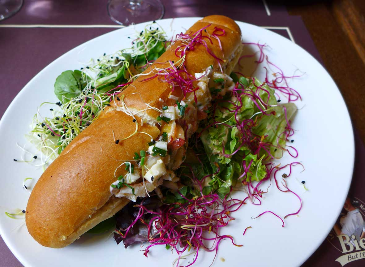 Restaurant Bieh : Lobster roll