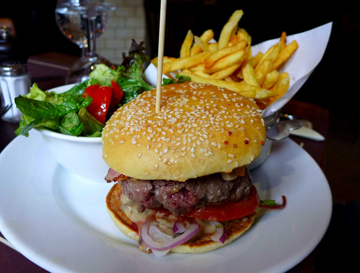 Restaurant Bieh : Cheese burger