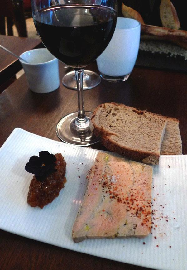Restaurant Bistro T par Le Un foie gras de canard