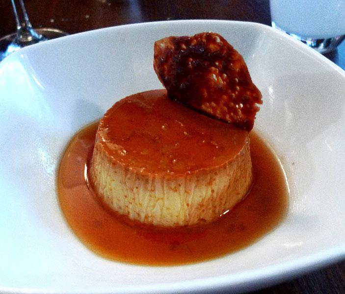 Restaurant Bistro T par Le Un : Crème caramel
