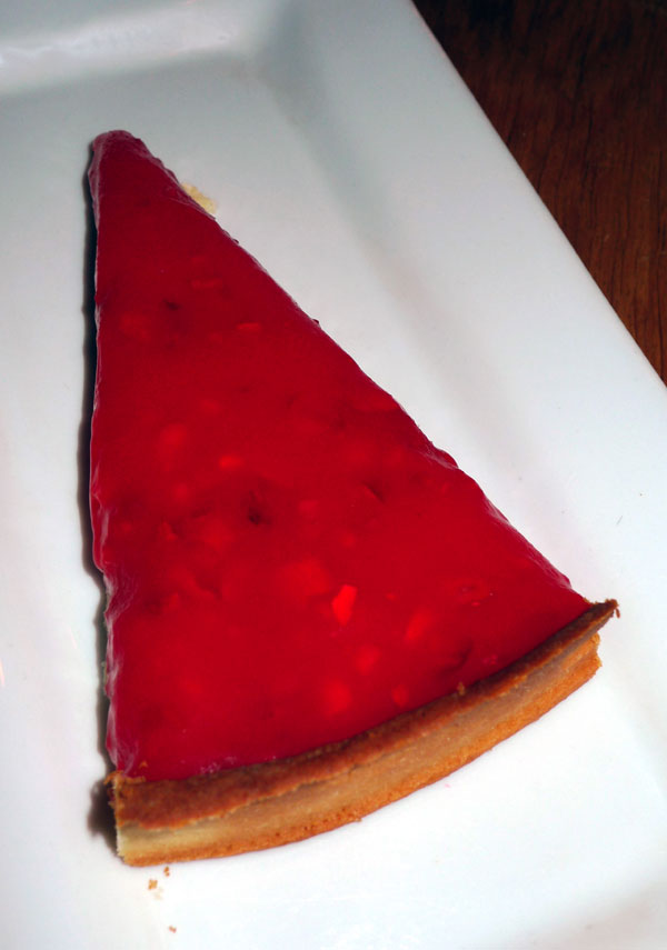 Bistrot Capucine, tarte à la praline