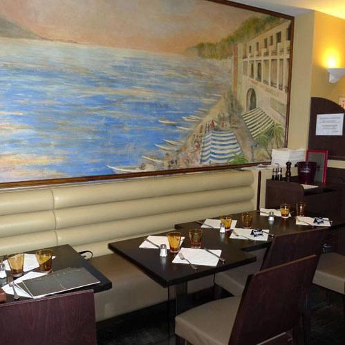 Restaurant Napolitain, décor du restaurant