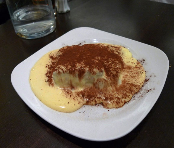 Restaurant Napolitain, Le tiramisu