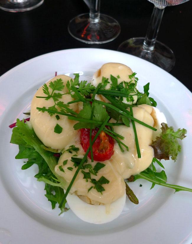 Bistrot Valois, Œufs mayonnaise
