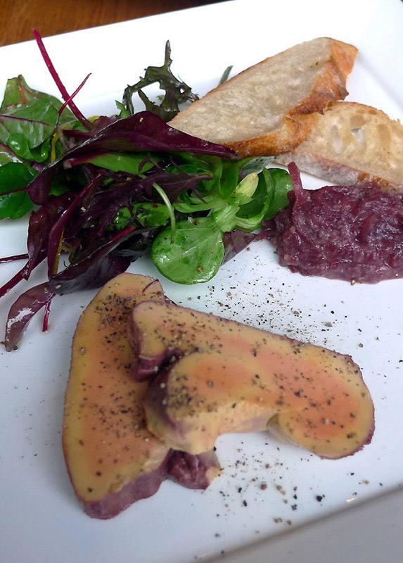 Les Bistrotters foie gras