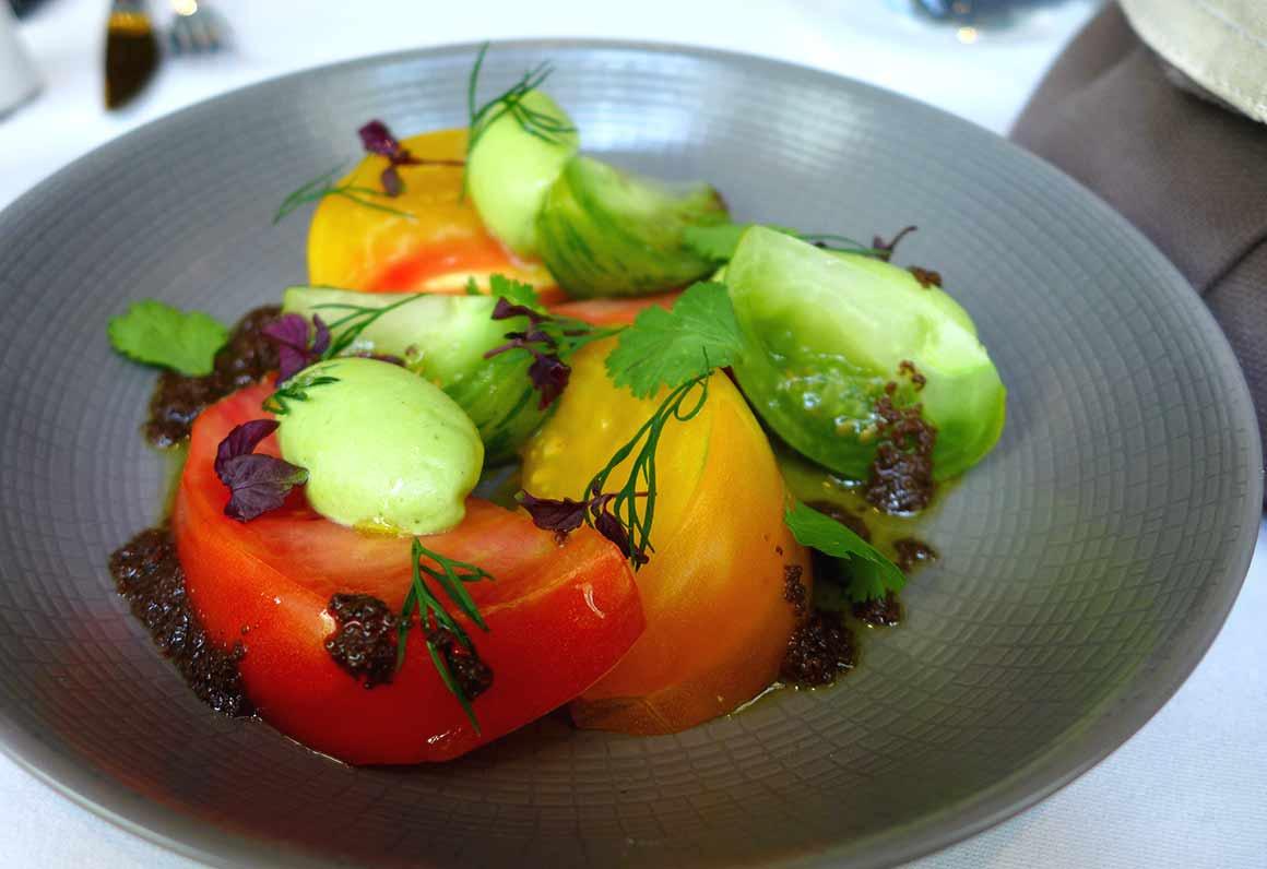 Restaurant Blossom : Les tomates anciennes
