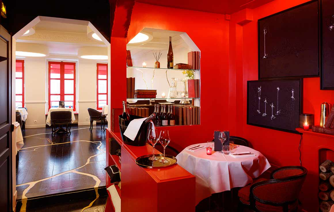 Restaurant Boutary, la salle