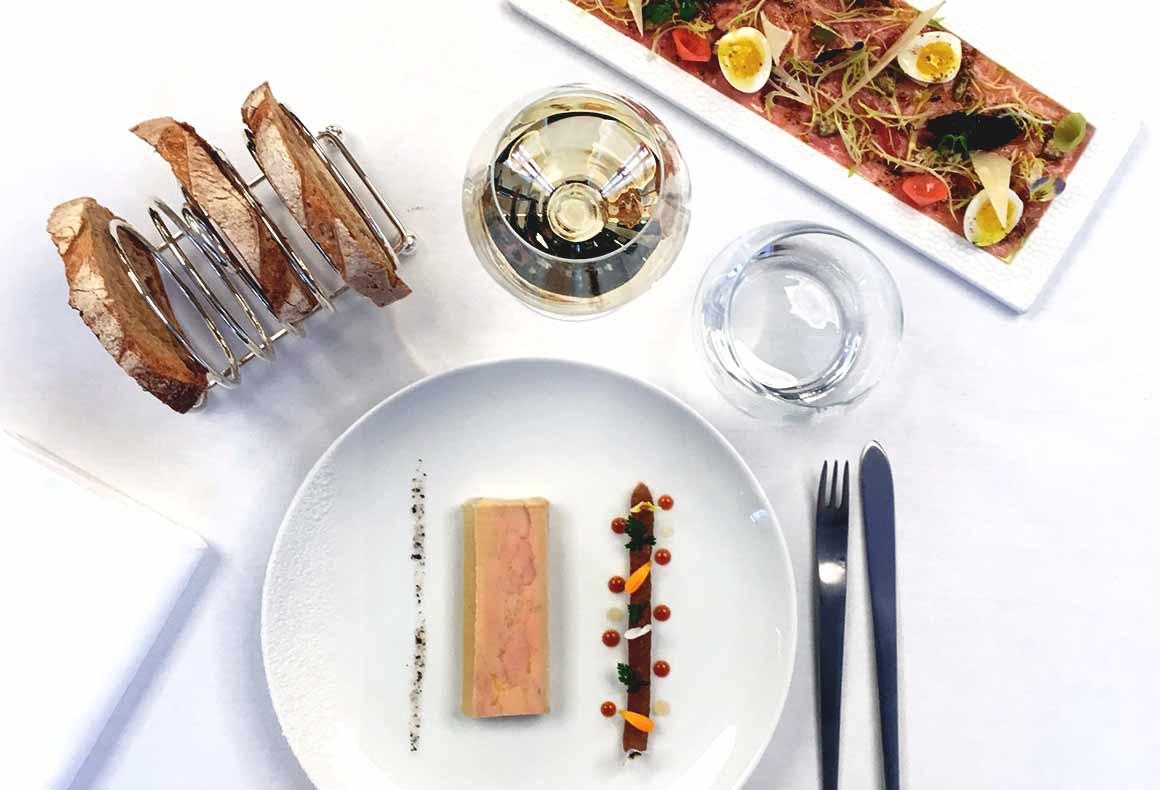 Restaurant Boutary, foie gras